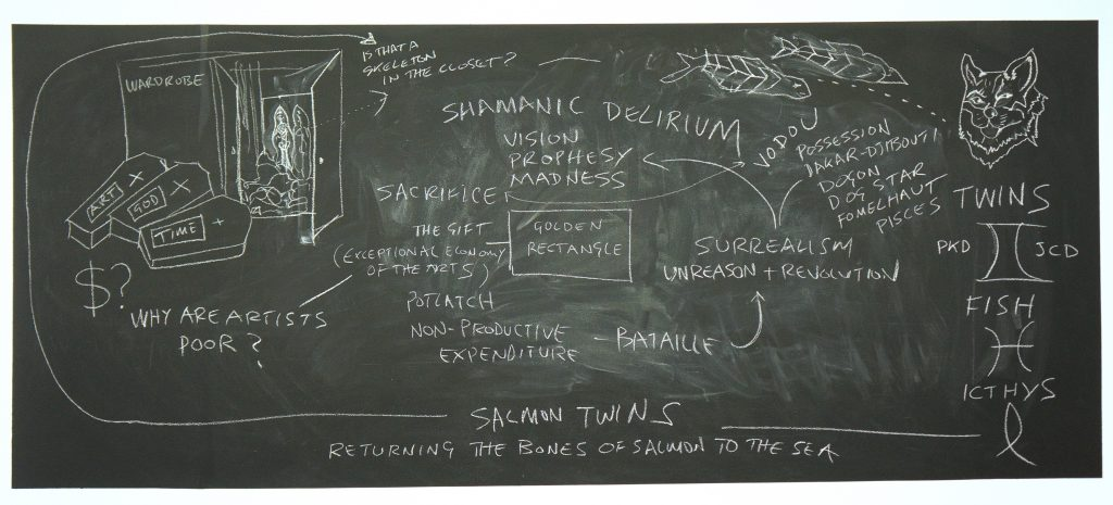 Shamanic Delirium Blackboard